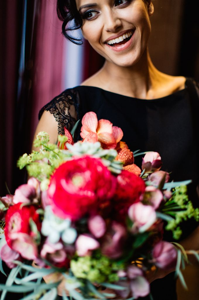 Sultry Marsala Wedding Inspiration by Tony Gigov Photography - 007
