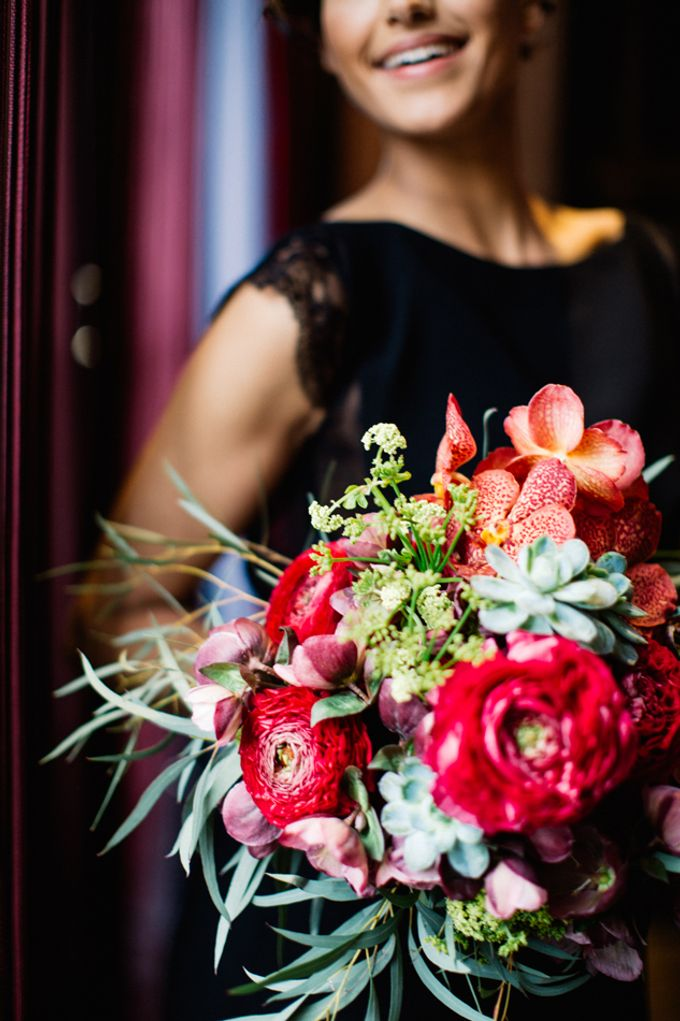 Sultry Marsala Wedding Inspiration by Tony Gigov Photography - 008