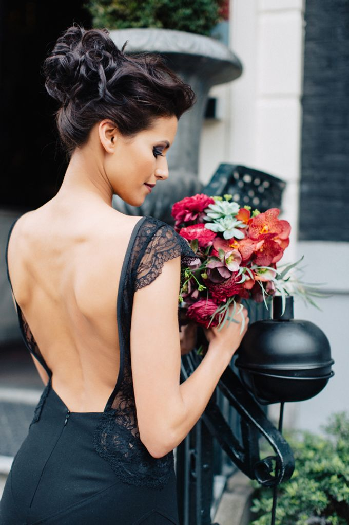 Sultry Marsala Wedding Inspiration by Tony Gigov Photography - 018