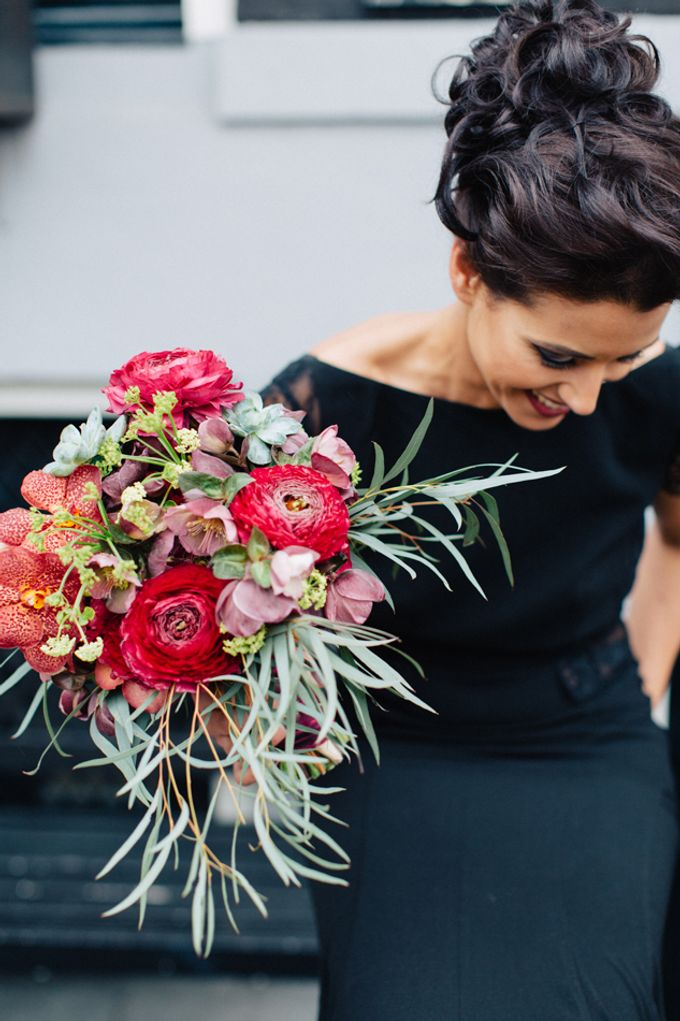 Sultry Marsala Wedding Inspiration by Tony Gigov Photography - 019