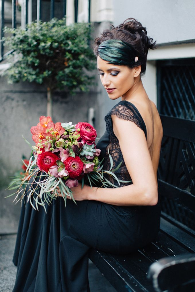 Sultry Marsala Wedding Inspiration by Tony Gigov Photography - 026