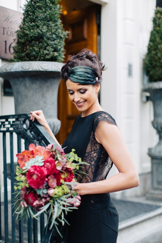 Sultry Marsala Wedding Inspiration by Tony Gigov Photography - 022