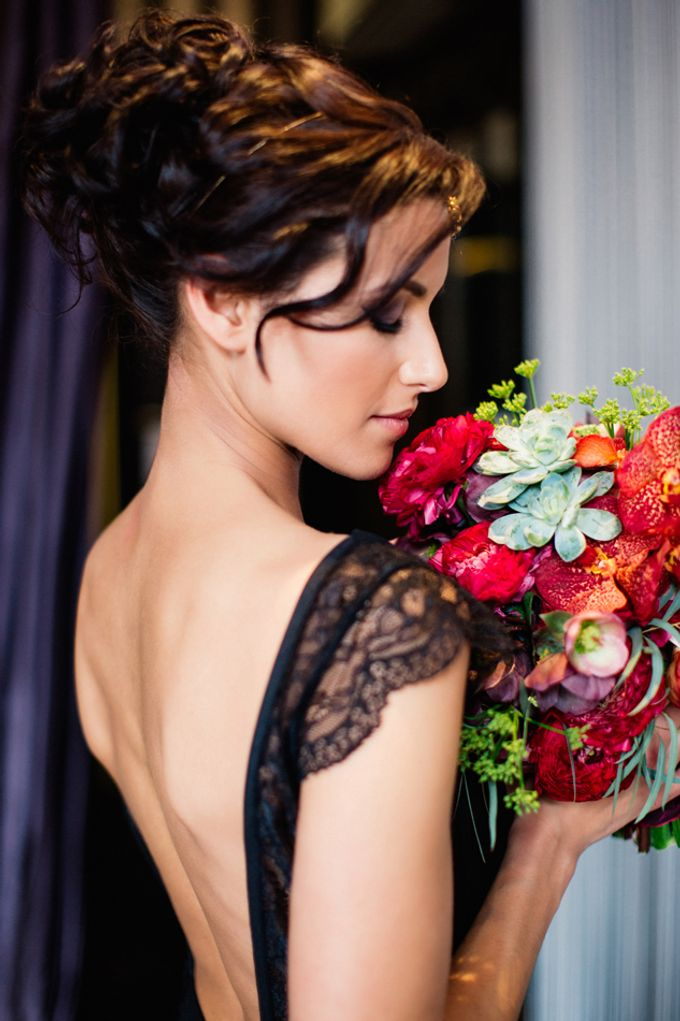 Sultry Marsala Wedding Inspiration by Tony Gigov Photography - 034