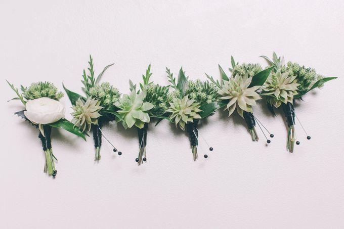 Bouquets & Boutonnieres by Mobtown Florals - 008