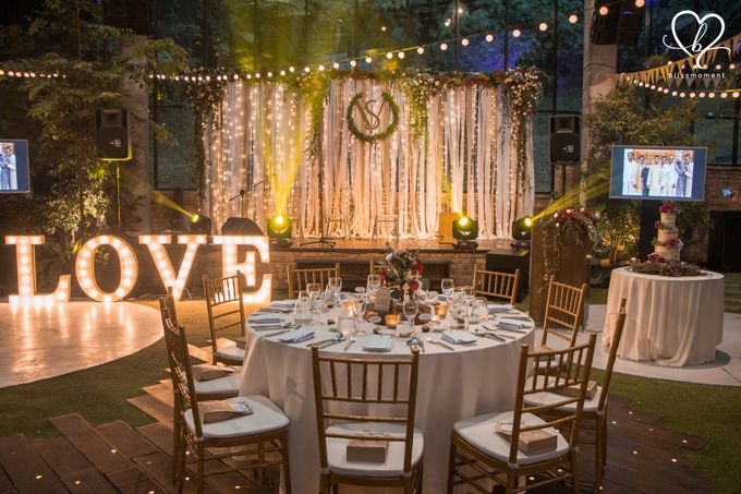 Sujev & Vijeeta - New Zealand Inspired Vintage Rustic Wedding Reception by Blissmoment - 002