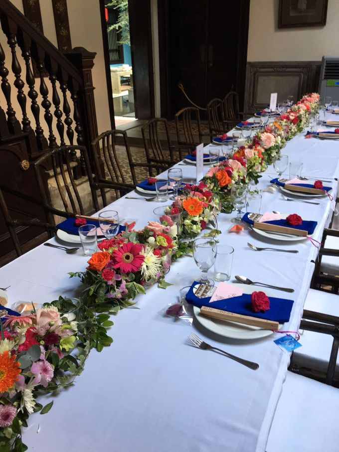 Wedding Table Setting by Cheong Fatt Tze - The Blue Mansion - 005