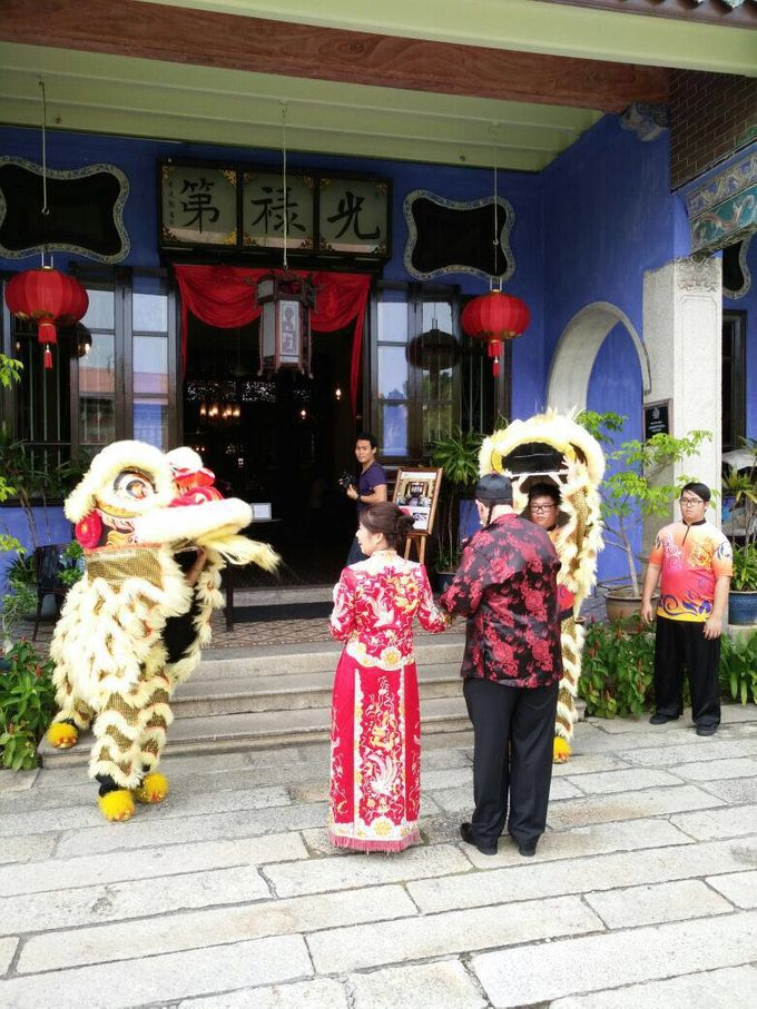 Traditional Chinese Wedding in Blue Mansion by Cheong Fatt Tze - The Blue Mansion - 002
