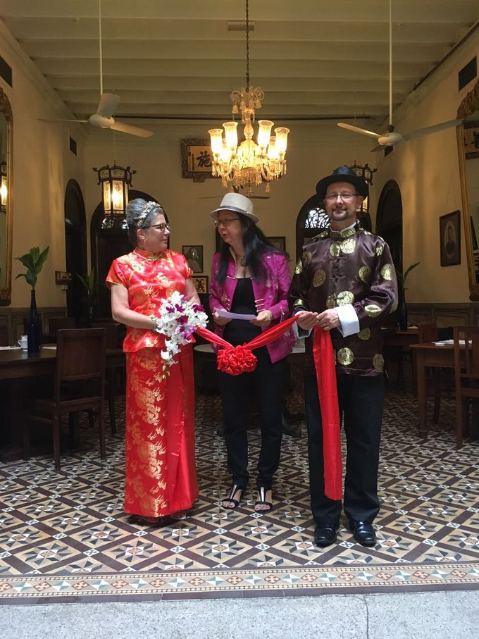 Traditional Chinese Wedding in Blue Mansion by Cheong Fatt Tze - The Blue Mansion - 001