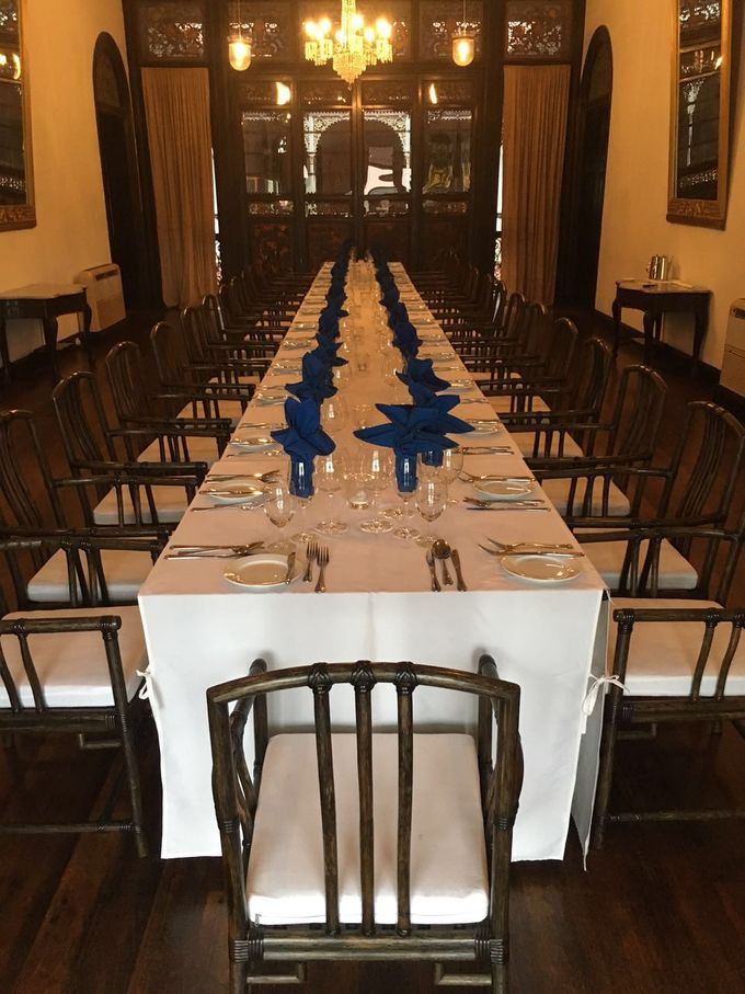 Wedding Table Setting by Cheong Fatt Tze - The Blue Mansion - 001