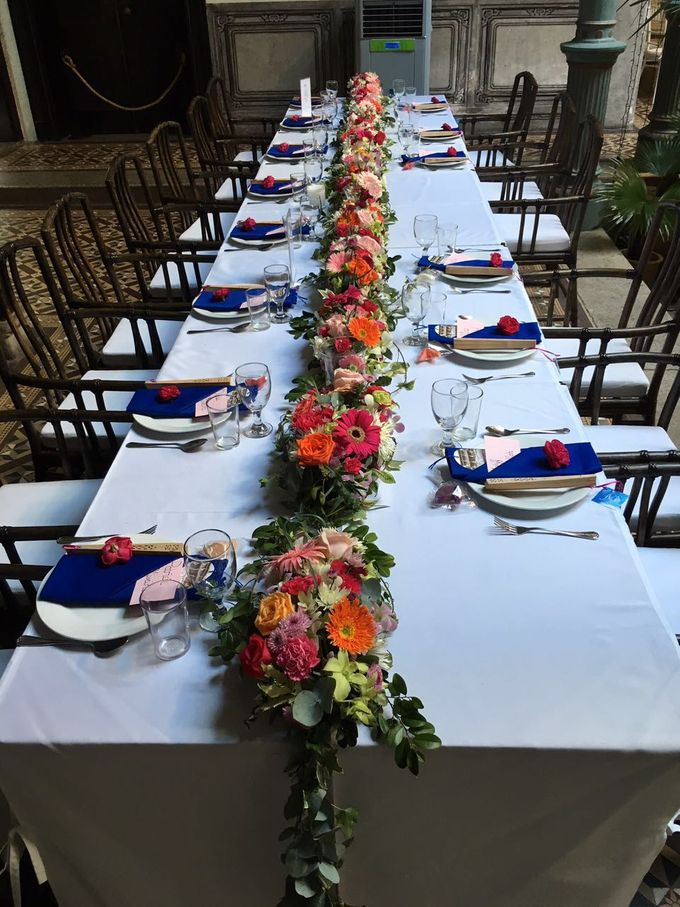 Wedding Table Setting by Cheong Fatt Tze - The Blue Mansion - 002