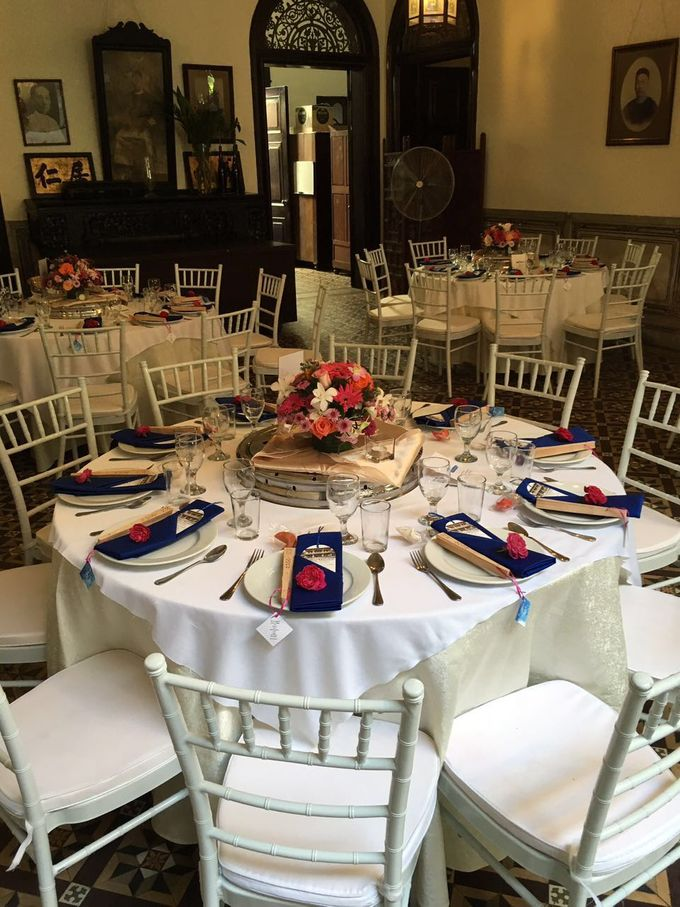 Wedding Table Setting by Cheong Fatt Tze - The Blue Mansion - 003