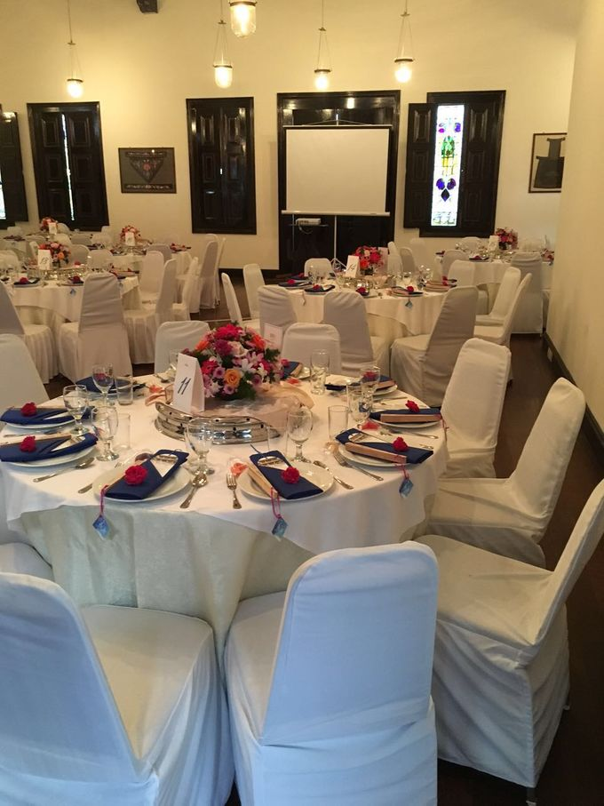 Wedding Table Setting by Cheong Fatt Tze - The Blue Mansion - 004