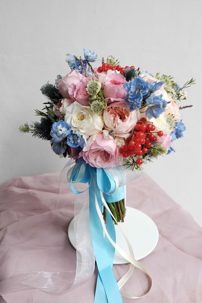 Round Bouquet Collection by Il Fiore - 012