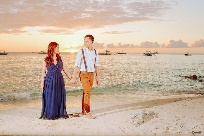 BORACAY EDSEL & KAREN by Donnie Magbanua (Wedding Portrait Studio) - 008