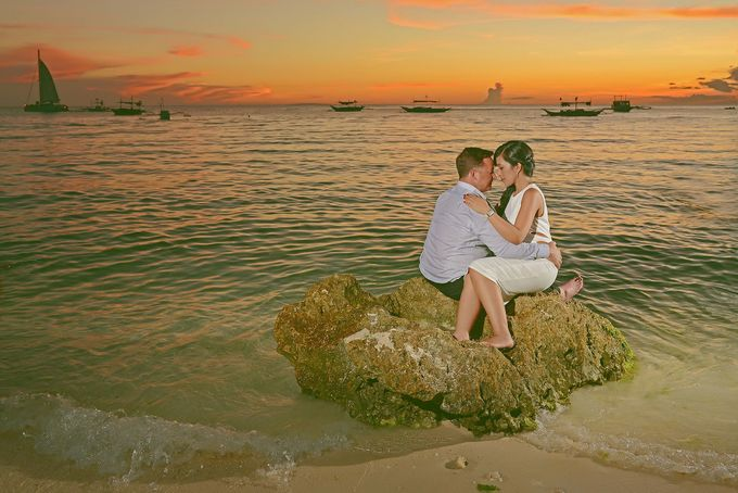 Boracay Wedding & Pre-Wedding by Donnie Magbanua (Wedding Portrait Studio) - 004