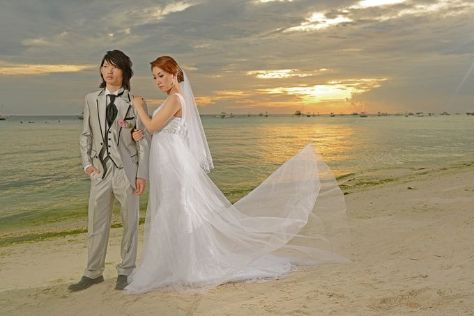 Boracay Wedding & Pre-Wedding by Donnie Magbanua (Wedding Portrait Studio) - 002