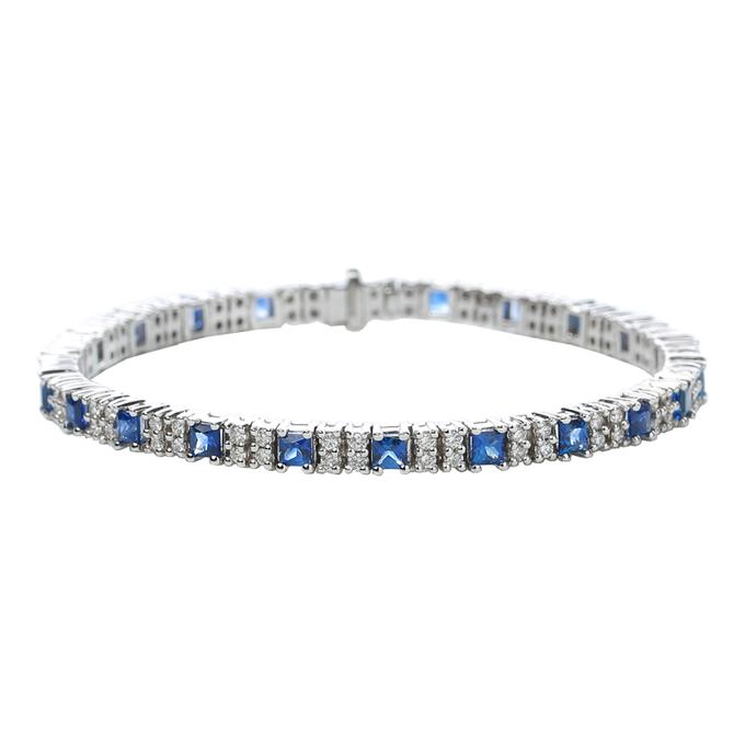 Something Blue - Tennis Bracelets by Carat 55 - 002