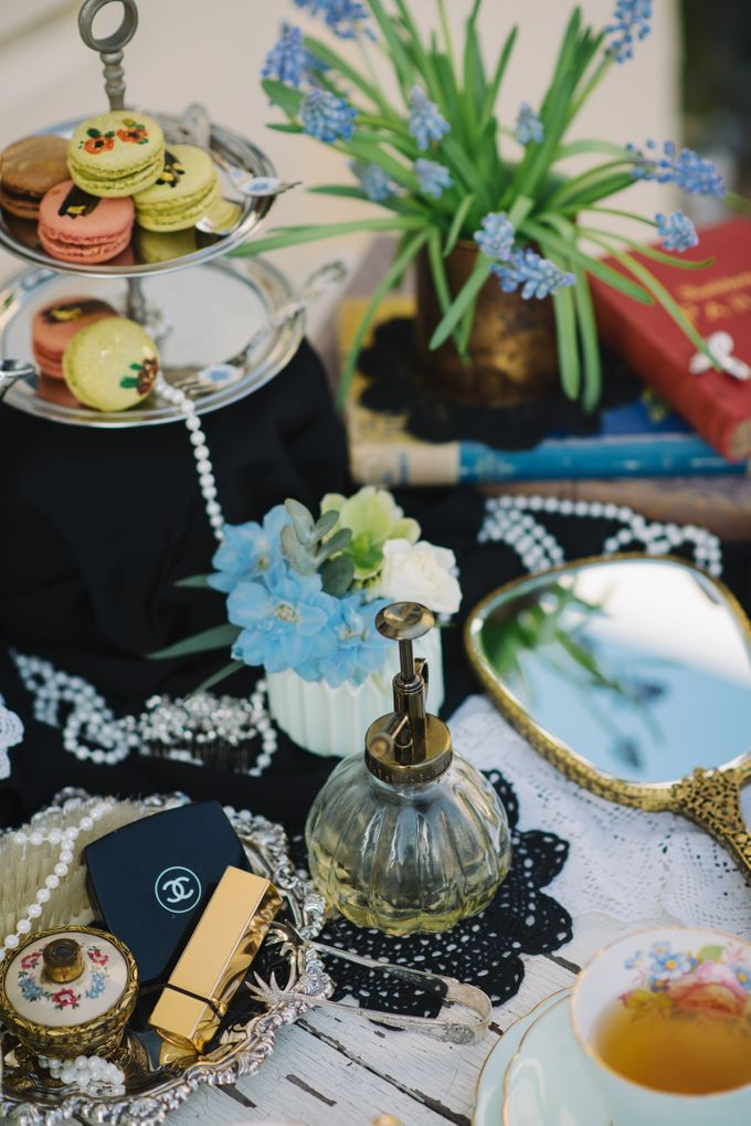 Vintage French-inspired Styled Shoot by Chere Weddings & Parties - 006