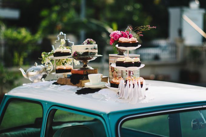 Vintage French-inspired Styled Shoot by Chere Weddings & Parties - 010