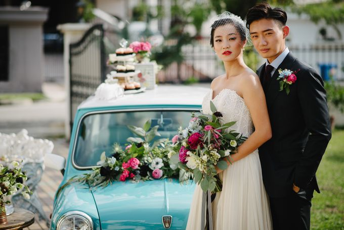 Vintage French-inspired Styled Shoot by Chere Weddings & Parties - 015