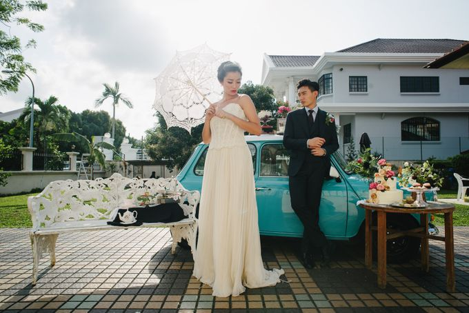 VINTAGE HUES by The Prelude Bridal - 002