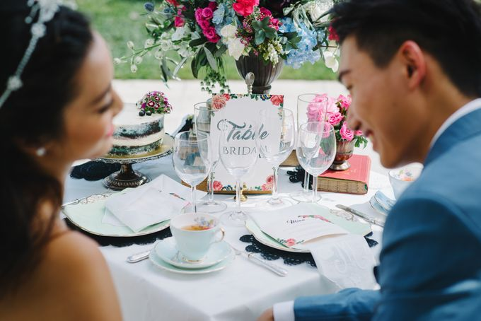 Vintage French-inspired Styled Shoot by Chere Weddings & Parties - 020