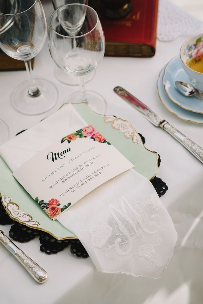 Vintage French-inspired Styled Shoot by Chere Weddings & Parties - 022