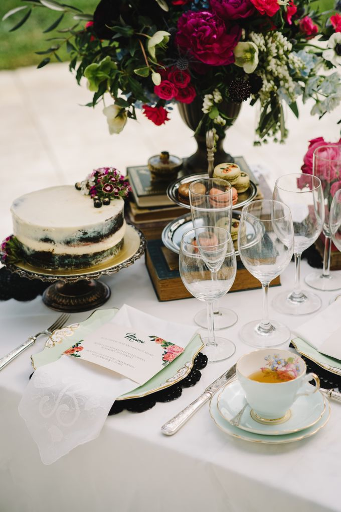 Vintage French-inspired Styled Shoot by Chere Weddings & Parties - 023