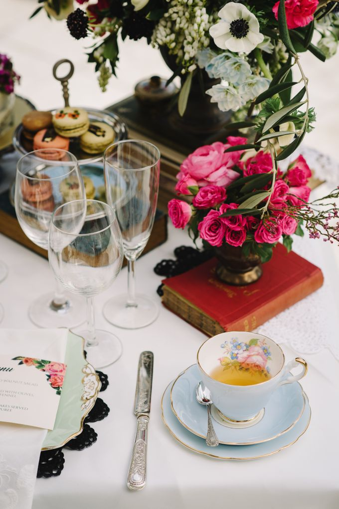 Vintage French-inspired Styled Shoot by Chere Weddings & Parties - 024