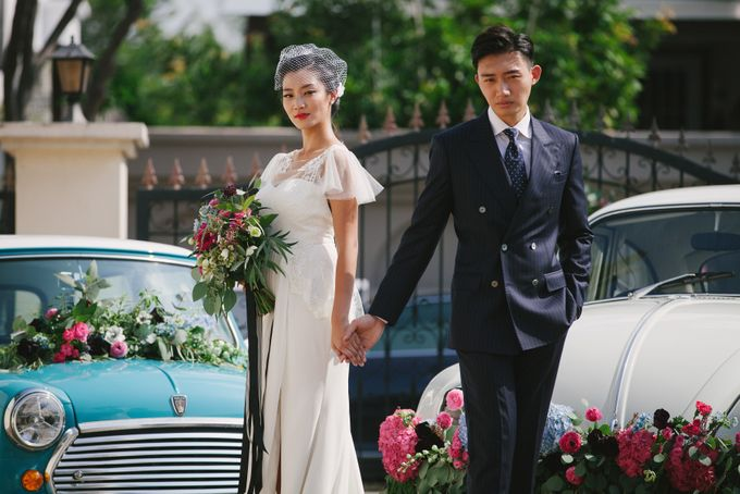 VINTAGE FRENCH-INSPIRED STYLED SHOOT by The Prelude Bridal - 003