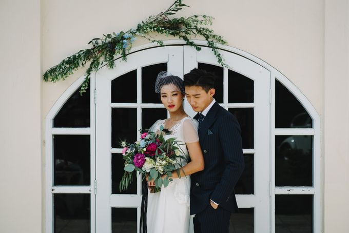 VINTAGE FRENCH-INSPIRED STYLED SHOOT by The Prelude Bridal - 002