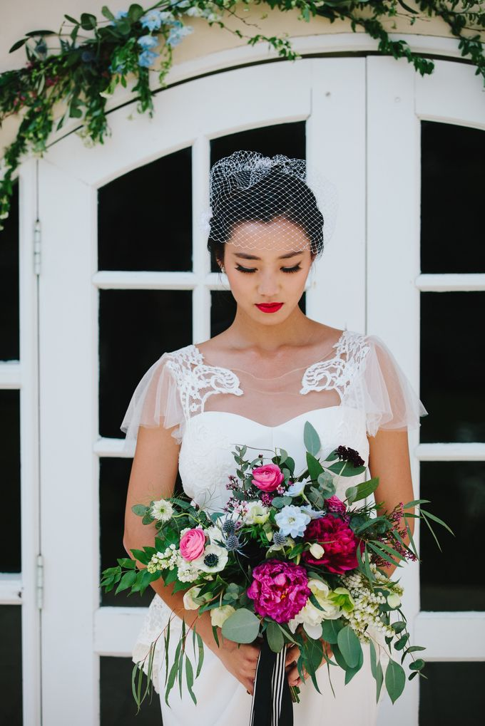 VINTAGE FRENCH-INSPIRED STYLED SHOOT by The Prelude Bridal - 001