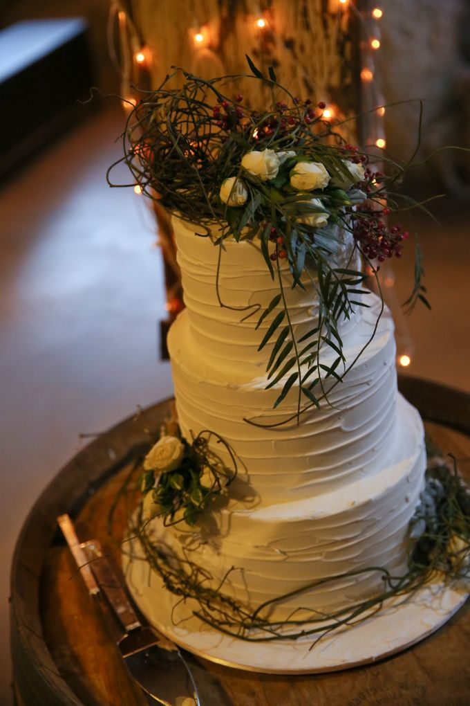 Wedding Cakes in the Hunter Valley by Project Cake - 005