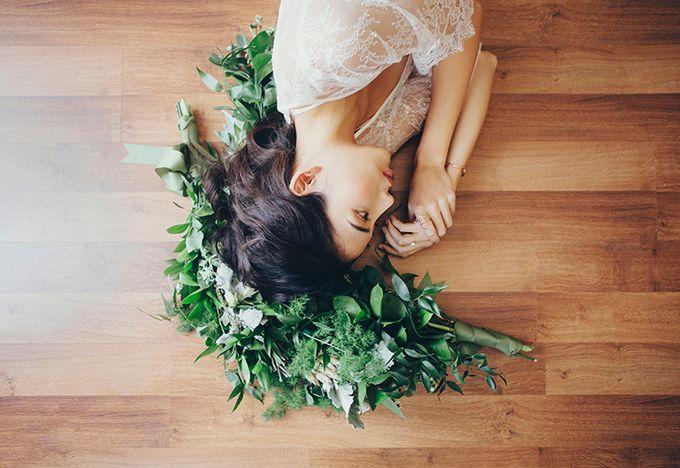 Dreamy Bridal Boudoir Styled Shoot by Fiona Treadwell - 002