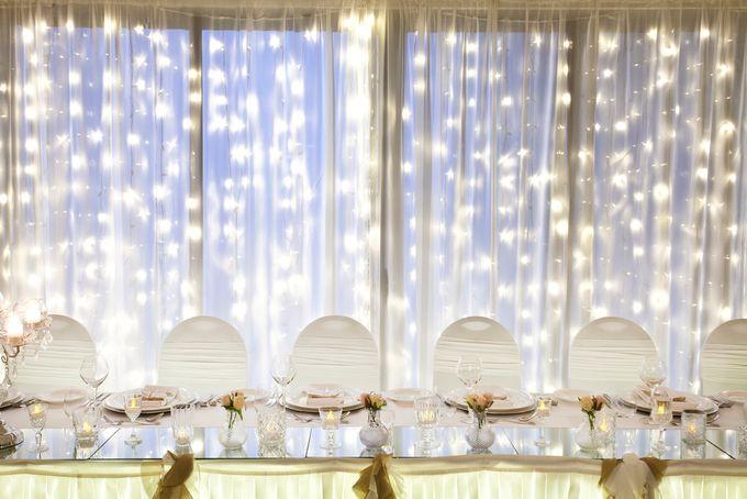 Wedding Fairy Lights Backdrop By Cinderella Dream