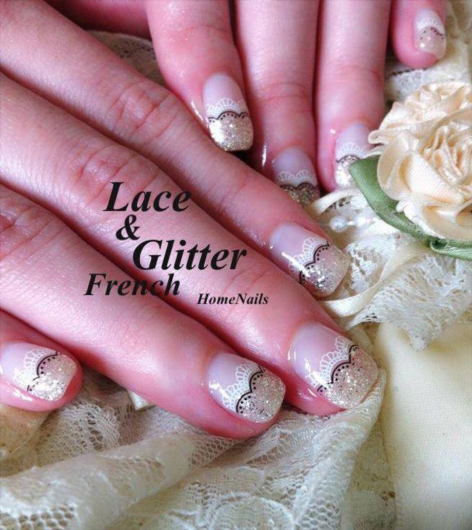 Exotic Bridal Nails by Home Nails - 001