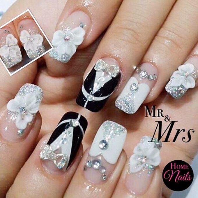 Exotic Bridal Nails by Home Nails - 003