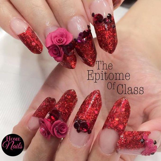 Exotic Bridal Nails by Home Nails - 004