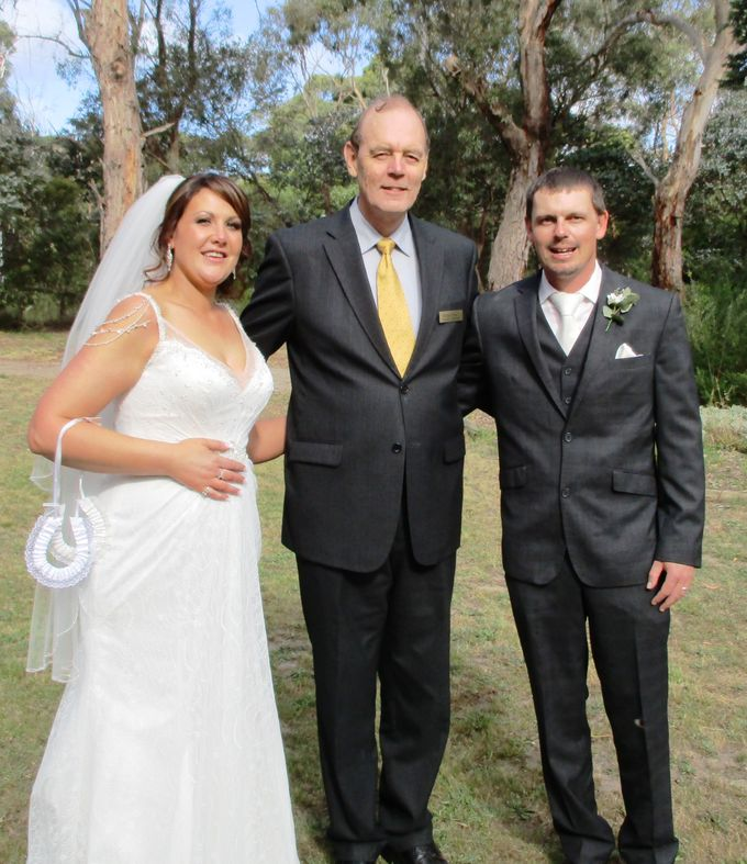 Spring Wedding in an Australlian Landscape by Aussie Marriages - Marriage Celebrant - 004