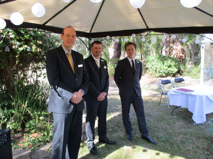 Spring Wedding in an Australlian Landscape by Aussie Marriages - Marriage Celebrant - 003