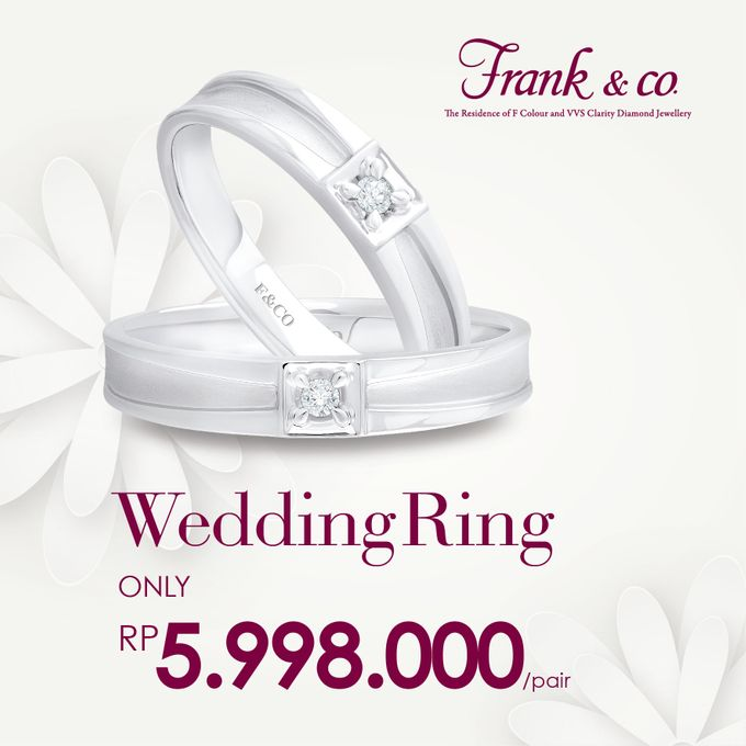 Wedding Ring Special Price by Frank & co. - 003