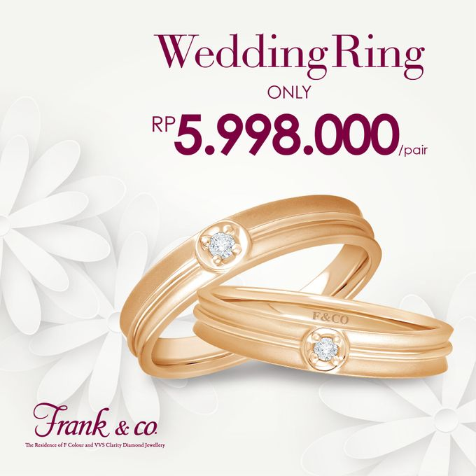 Wedding Ring Special Price by Frank & co. - 004