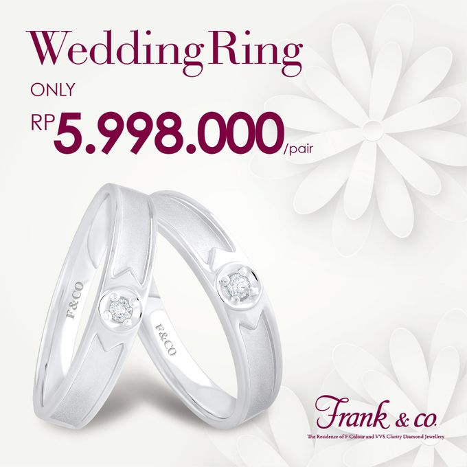 Wedding Ring Special Price by Frank & co. - 005