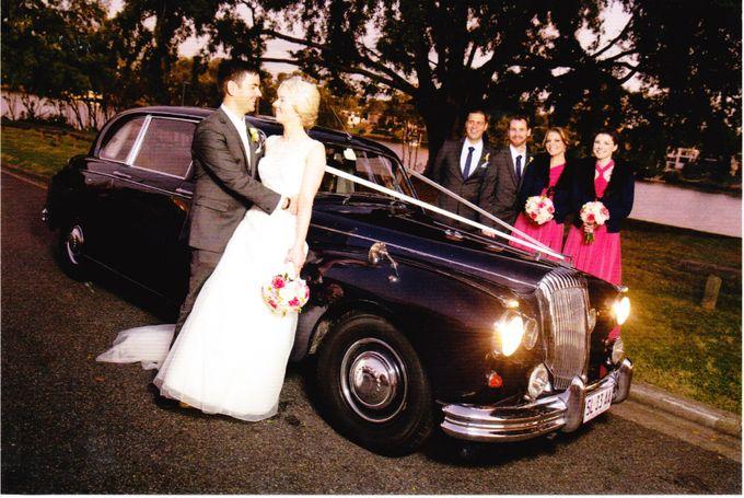 Classic Daimler major Magestic Wedding Car by Tic Tac Tours & Premier Limousines - 011