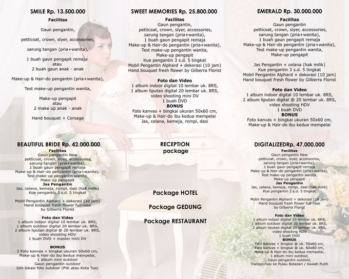 Pricelist Rubens Bridal by Rubens Wedding Planner - 001