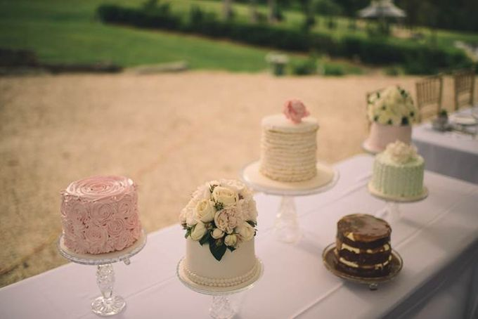 Wedding Cakes in the Hunter Valley by Project Cake - 006