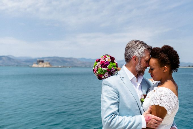 Civil Afro American wedding in Nafplio by MarrymeinGreece - 027
