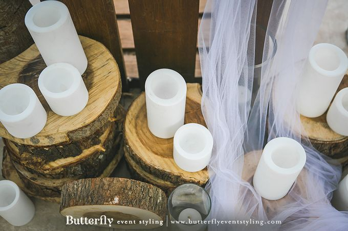 Rustic by the Beach by Butterfly Event Styling - 046