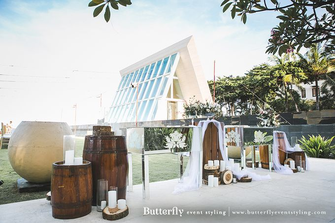 Rustic by the Beach by Butterfly Event Styling - 045