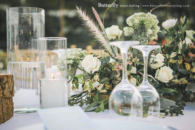Rustic by the Beach by Butterfly Event Styling - 031